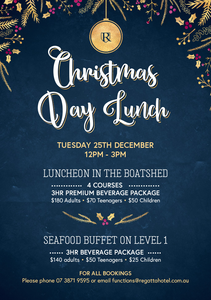 christmas day lunch sold out - Christmas Day 2018